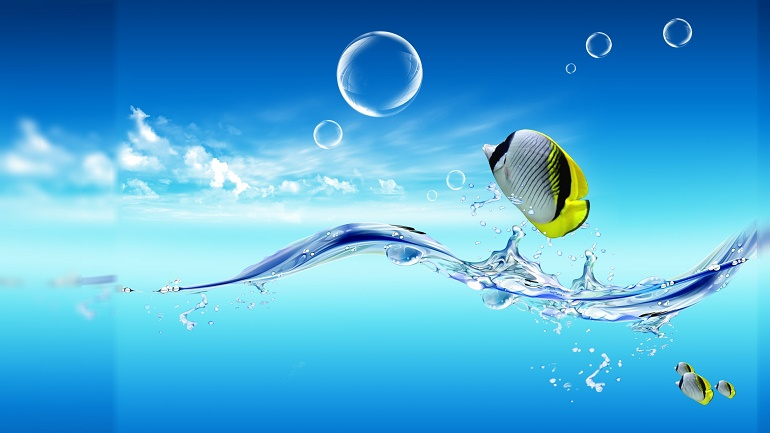 3D Water Wallpaper 6